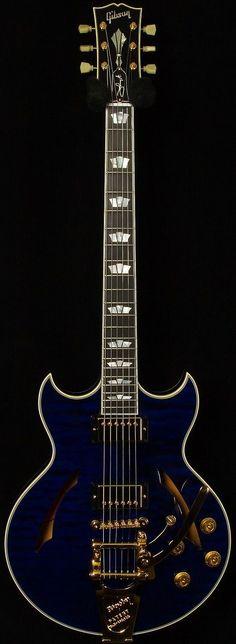 Gibson Johnny A. Signature  #LardysChordophoneOfTheDay #Guitar ~ https://www.pinterest.com/lardyfatboy/lardys-other-fretted-chordophones-of-the-day/ ~ #ElectricGuitar #beautifulguitars