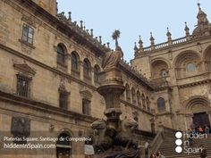 Camino de Santiago – The Way of St. Spanish Courses, Study Spanish, The Camino, Parking, Mosque, Cathedral, Louvre, Architecture, City