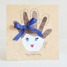 Mother's Day Handprint Cards