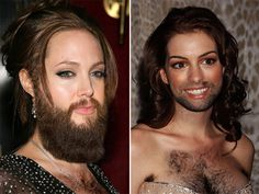 Funny All The Time: Female Celebrities With Beards (26 Pics)