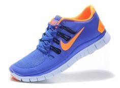 bd7bd3c8d84d Nike Free 5.0 Size 12 For Men Sneaker Blue Orange Nike Running Shorts