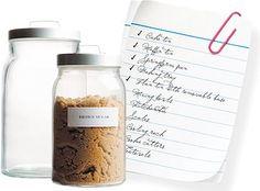 Customizable Free Printable Food Jar Labels