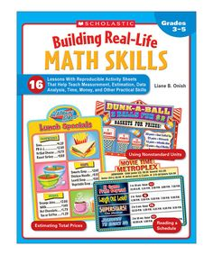 Look at this Math Skills Building Real-Life Paperback on #zulily today!