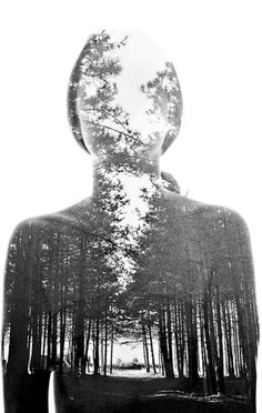 Aneta Ivanova: these depart so far from your classic cheesy double exposure shot. Amazing.