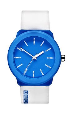 Watches - Second / White and Blue