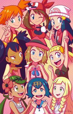 All Of The Pokémon Girls