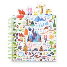 """In der """"Zoomania""""-Mappe sind alle deine Abenteuer bestens aufgehoben. Die Mappe enthält lustige Charakter-Register. Auf jeder Seite ist ein hübsches Charakter-Motiv mit Judy Hopps und Nick Wilde abgebildet!"""
