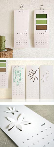 DIY PDF Calendar