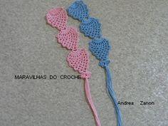 εïз MARAVILHAS DO CROCHE εïз: ☆ MARCADORES DE LIVROS ☆