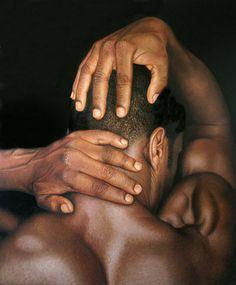OddFuttos, When The Photos Speak: Stunning Hyper Realistic Lifelike Paintings by Omar Ortiz Hyper Realistic Paintings, Realistic Drawings, Amazing Drawings, Amazing Art, Figure Painting, Painting & Drawing, Realism Art, Human Art, Black Is Beautiful