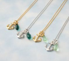 Anchor Necklace - Friendship Necklace