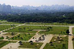 Villa Lobos Park, São Paulo, Brazil.