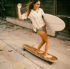 Skate On The Beach : Photo