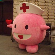 Pink Japanese Blood Mascot!