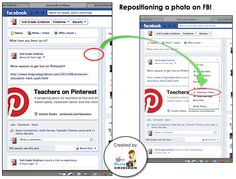"""How to Reposition Photos on Facebook (no more """"cut off"""" pics!)"""