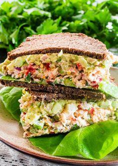 Knallvergnügt Leben: Knallvergnügt Essen mit Sandwiches