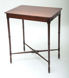 18th Century Mahogany Spider Leg Side Table