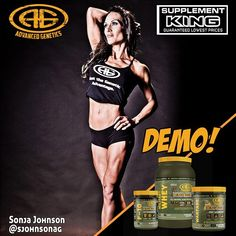DEMO ALERT!!! ... This Friday from 4-6pm at @supplementkinghalifax Larry Utek location. With overall Provincial Bikini champion @sjohnsonag  ... FOLLOWFOLLOW  @advancedgenetics  @ agarmygirl  @agarmykitchen  . ||>-------<|| .  www.agarmy.com  Supplements  Muscle Building / Fat Burning  Pre/Intra/Post Workout Nutrition  Hormone Optmization ------------------------------- Advanced Genetics military grade bodybuilding supplements. Fully dosed formulas designed by IFBB Pro & holistic…