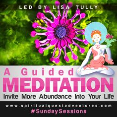 Listen to this guided meditation and invite more abundance into your life!  https://soundcloud.com/lisatully/guided-meditation-inviting-abundance-into-your-life  #guided meditation #abundance