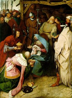 """The Adoration of the Kings,"" 1564, Pieter Bruegel the Elder  www.artexperiencenyc.com"