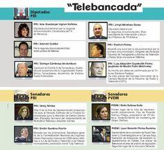 Como nunca antes el Congreso tendrá representantes de la Telebancada