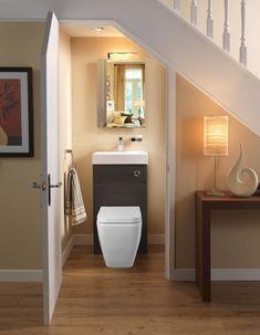 Cozy Bathroom Under Stairs Design Ideas Bathroom Design Software, Bathroom Design Luxury, Bathroom Design Small, Cozy Bathroom, Simple Bathroom, Modern Bathroom, Bathroom Ideas, Master Bathroom, Bathroom Renovations
