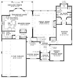 1 Story House Plans in addition Viewtopic as well Unfinished Basement Bedroom in addition Craftsman House Elevations besides Dream Home. on luxury small ranch home plans with hearth room
