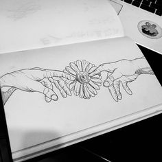 Blackwork, Desenhos Van Gogh, T Magazine, Teen Titans Go, Easy Drawings, Submissive, Drawing S, I Tattoo, Tatting