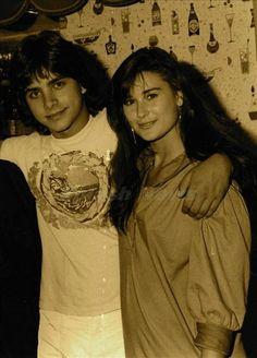 Demi Moore & John Stamos....so young.  I'm thinkin' General Hospital days . . .