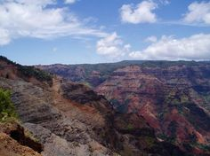 Kauii - Waimea canyon