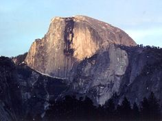 Half Dome.  Hopefully I'll get a chance to conquer this hike at Yosemite sometime this year!