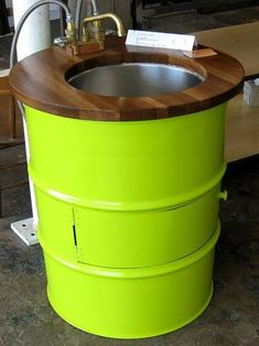HOME DZINE Craft Ideas | Practical ways to recycle old oil drums