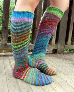Ravelry: hillanen's Skewed knee highs