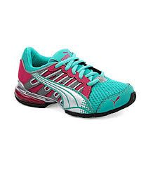 15a7d614c8c9 Puma Girls Voltaic 3 Jr Running Shoes Back to School
