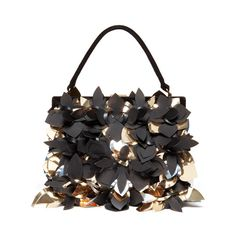 Marni metallic appliqued bag, fall 2012 accessories «... ❤ liked on Polyvore featuring accessories, bags and purses