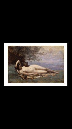 Jean-Baptiste Camille Corot - Bacchante au bord de la mer, 1865 - Huile sur bois - 38,7 x 59,4 cm - New-York, The Metropolitan Museum of Art