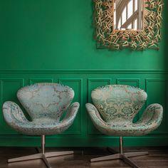 Green interior, broc
