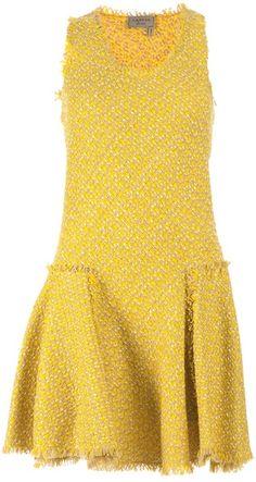 LANVIN Sleeveless Skater Dress - Lyst