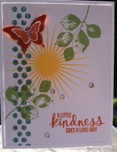 Kinda Eclectic stamp set by Stampin' Up!  Quick, easy and fabulous!  www.mailsomethingpretty.com