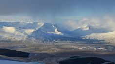 Ben Alder from Geal Charn at Drumochter Scottish Mountains, Mountain Hiking, Beautiful World, Places To See, Britain, Scotland, Landscapes, Scenery, To Go