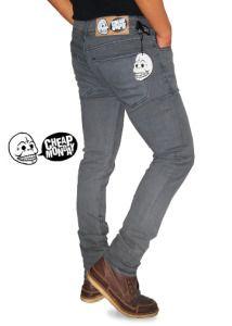 CHEAP MONDAY JEANS GREY  harga eceran : Rp. 140.000 / celana (1 -2 pcs) harga grosir Rp 120.000 /celana (3 pcs atau lebih) belum termasuk ongkir CHEAP MONDAY JEANS GREY  -Bahan denim jeans strech -Ukuran 29-34 -Kualitas kw super CHEAP MONDAY JEANS GREY  Pemesanan via SMS Anda dapat melakukan pemesanan melalui SMS dengan format sebagai berikut:  Nama | Alamat Lengkap | Produk Yang Dipesan | Jumlah Pesanan  kirim ke 085701111960