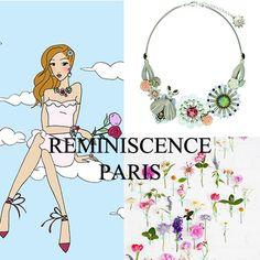 Blooming de Réminiscence, c'est une collection de bijoux qui respirent le printemps, tout en fleurs et délicatesse, teintes pastel et éclat argenté.