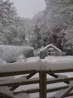 UK - cue country shutting down because of a few cm of snow.