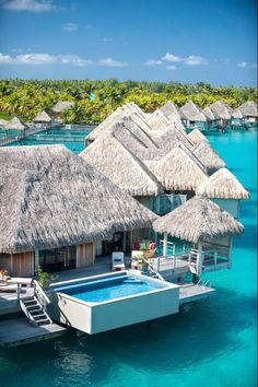 Bora Bora Bora!!! Take me there.