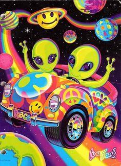 48 Lisa Frank Wallpapers Wallpapers available. Share Lisa Frank Wallpapers with your friends. Submit more Lisa Frank Wallpapers Ufo, Lisa Frank Folders, Arte Alien, Alien Art, Theme Tattoo, Psy Art, 90s Kids, Illustration, Nostalgia