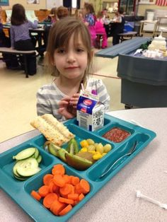 From the wonderful director Wendy Collins at Kittery School Nutrition. What a delicious, energizing way to refuel these students for the afternoon! Lunch Photos, Cafeteria Food, Corn Dogs, School Lunches, Food Service, Restaurant Design, Lunch Ideas, Schools, Watermelon