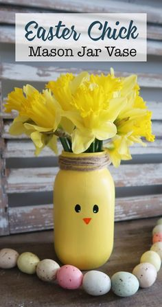 Ideas Holiday Diy Mason Jars Craft Ideas For 2019 Mason Jar Vases, Painted Mason Jars, Mason Jar Crafts, Mason Jar Diy, Bottle Crafts, Mason Jar Painting, Pot Mason, Diy Décoration, Easy Diy Crafts