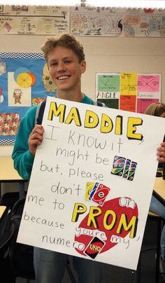 See more of maddieroott's VSCO. Best Prom Proposals, Cute Homecoming Proposals, Homecoming Signs, Cute Relationship Goals, Cute Relationships, Softball, Creative Prom Proposal Ideas, Girl Ask Guy, Funny Prom