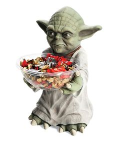 Another great find on #zulily! Yoda Candy Holder by chasing fireflies #zulilyfinds