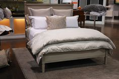 How to make a bed (beautifully)!  #1 is about my speed for our master bedroom on a weekday, but I am SO doing style #3 in the guest room! Or if anyone might be seeing the master bedroom (after all, I do own the impressive looking euro shams).